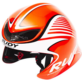 Rudy Project Wing57 Casque, red fluo / white (shiny)